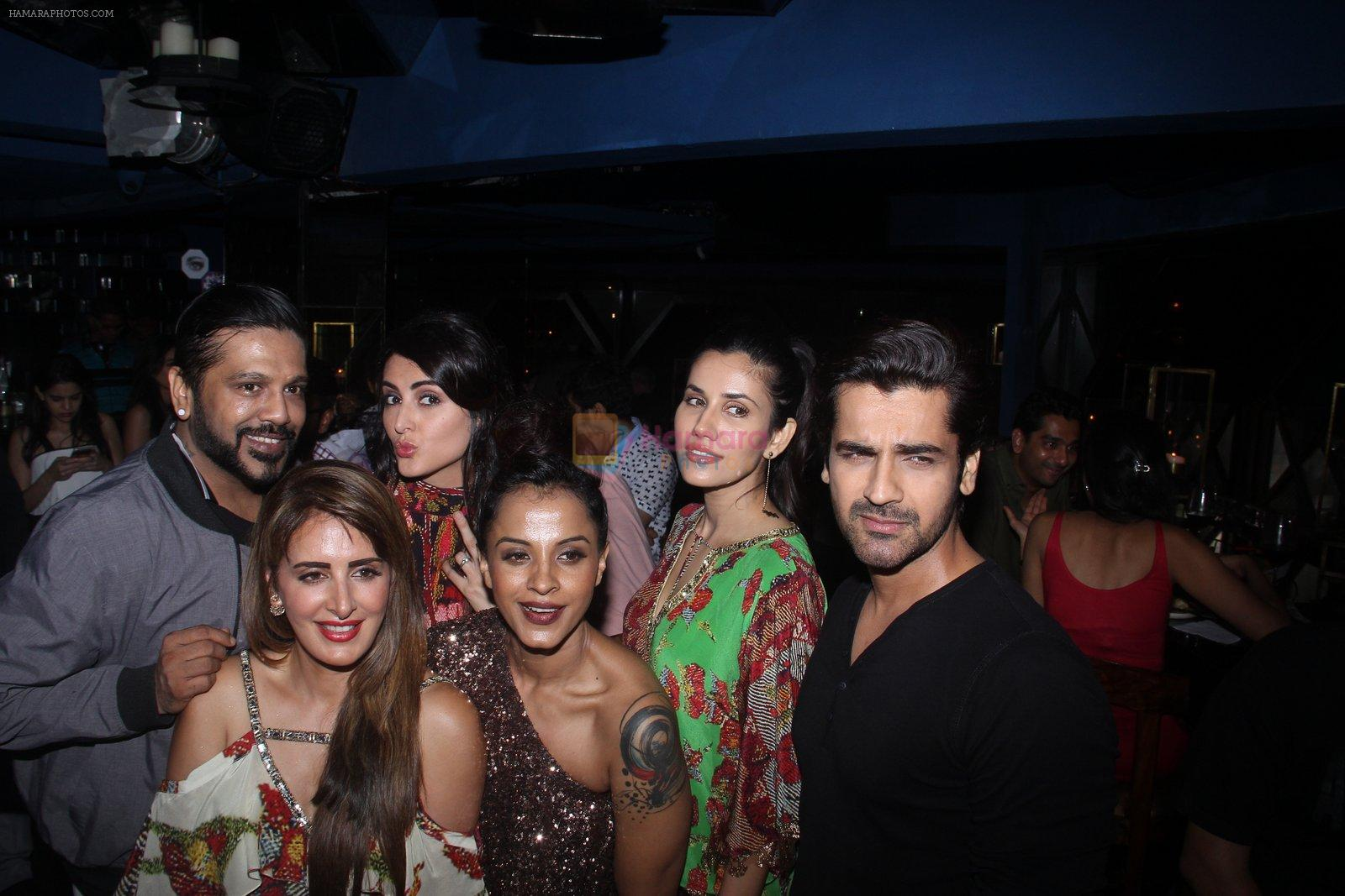Mandana Karimi, Manasi Scott, Arjan Bajwa, Rocky S at Pria Kataria Puri's fashion preview on 3rd Aug 2016