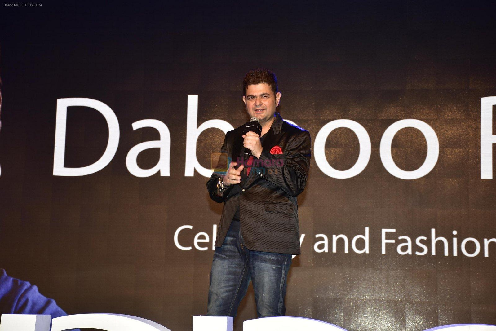 Dabboo Ratnani at Oppo F1s mobile launch in Mumbai on 3rd Aug 2016