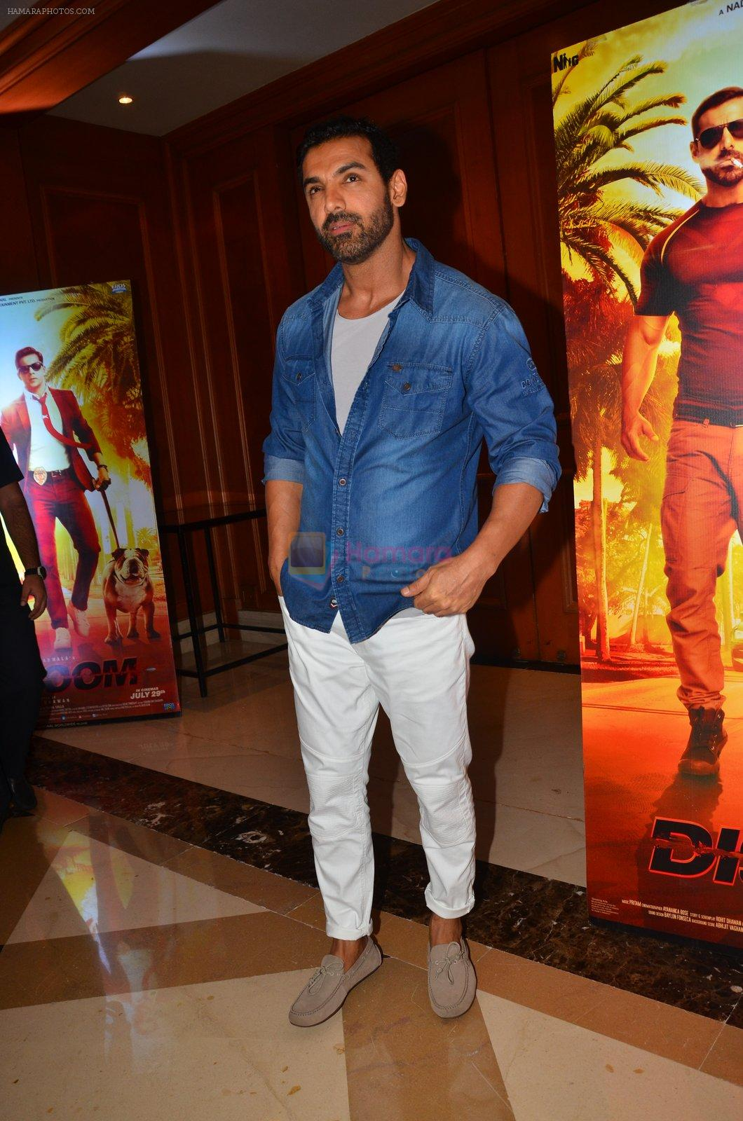 John Abraham At Dishoom Movie Press Meet On 3rd August