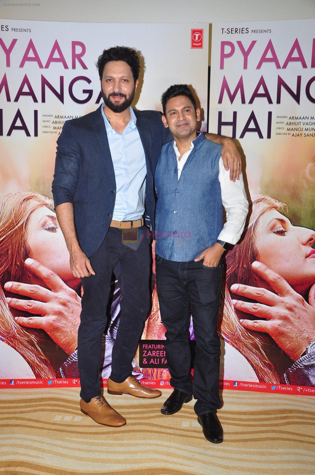 at PYAAR MANGA HAI Video Song Launch on 3rd August 2016