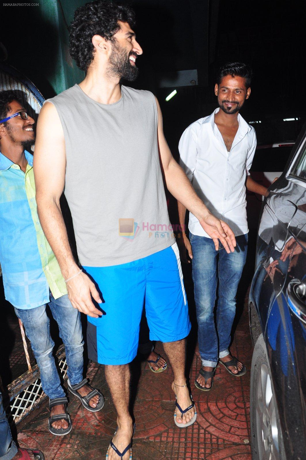 Aditya Roy Kapoor with Dream Team cast snapped post rehearsals on 3rd Aug 2016