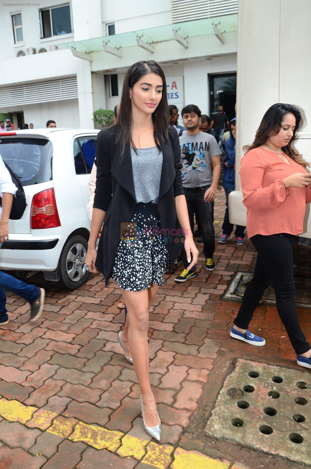 Pooja Hegde on sets of Dance plus 2 on 3rg Aug 2016