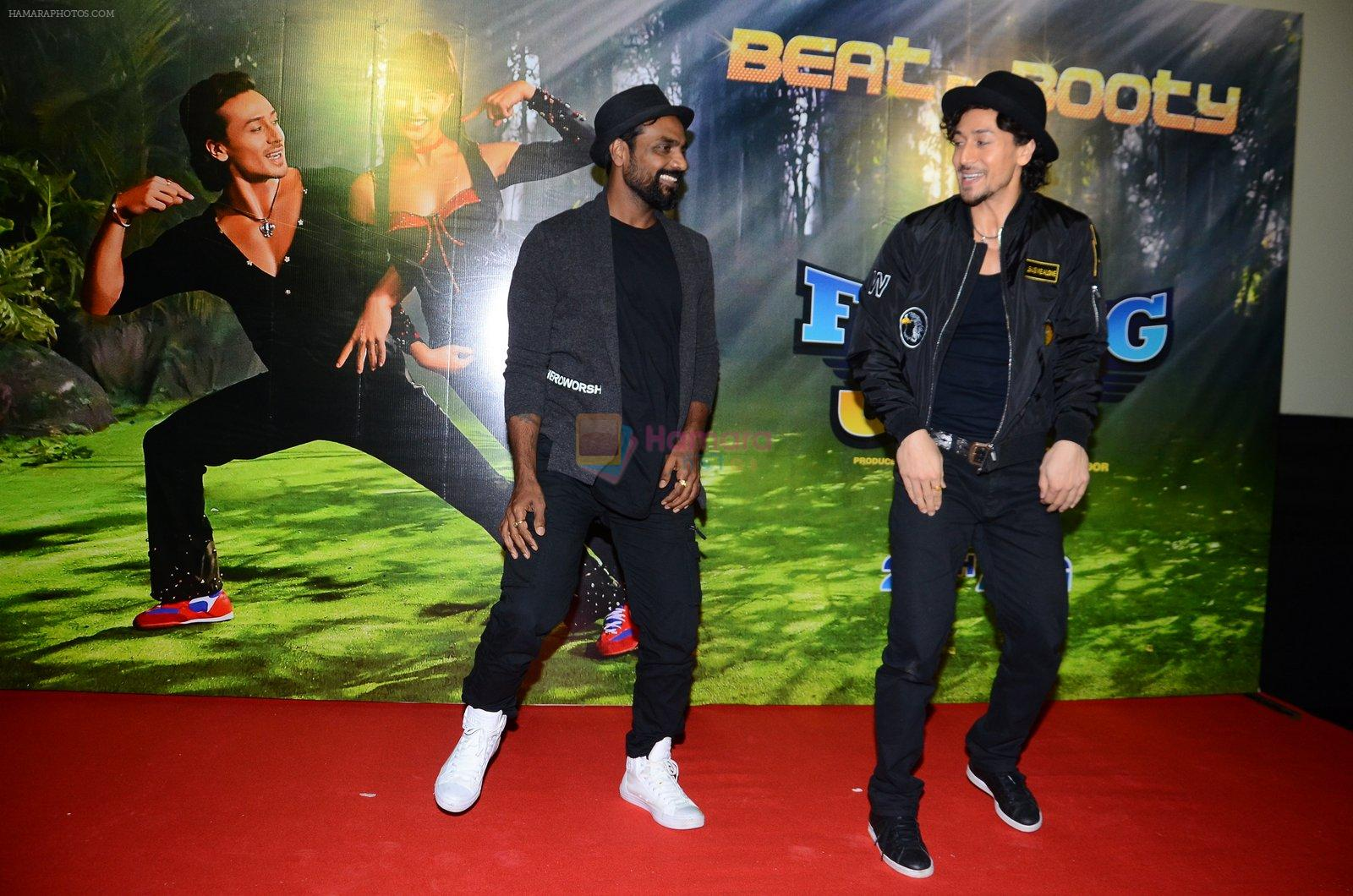 Tiger Shroff & Remo Dsouza promote A Flying Jatt on 4th Aug 2016