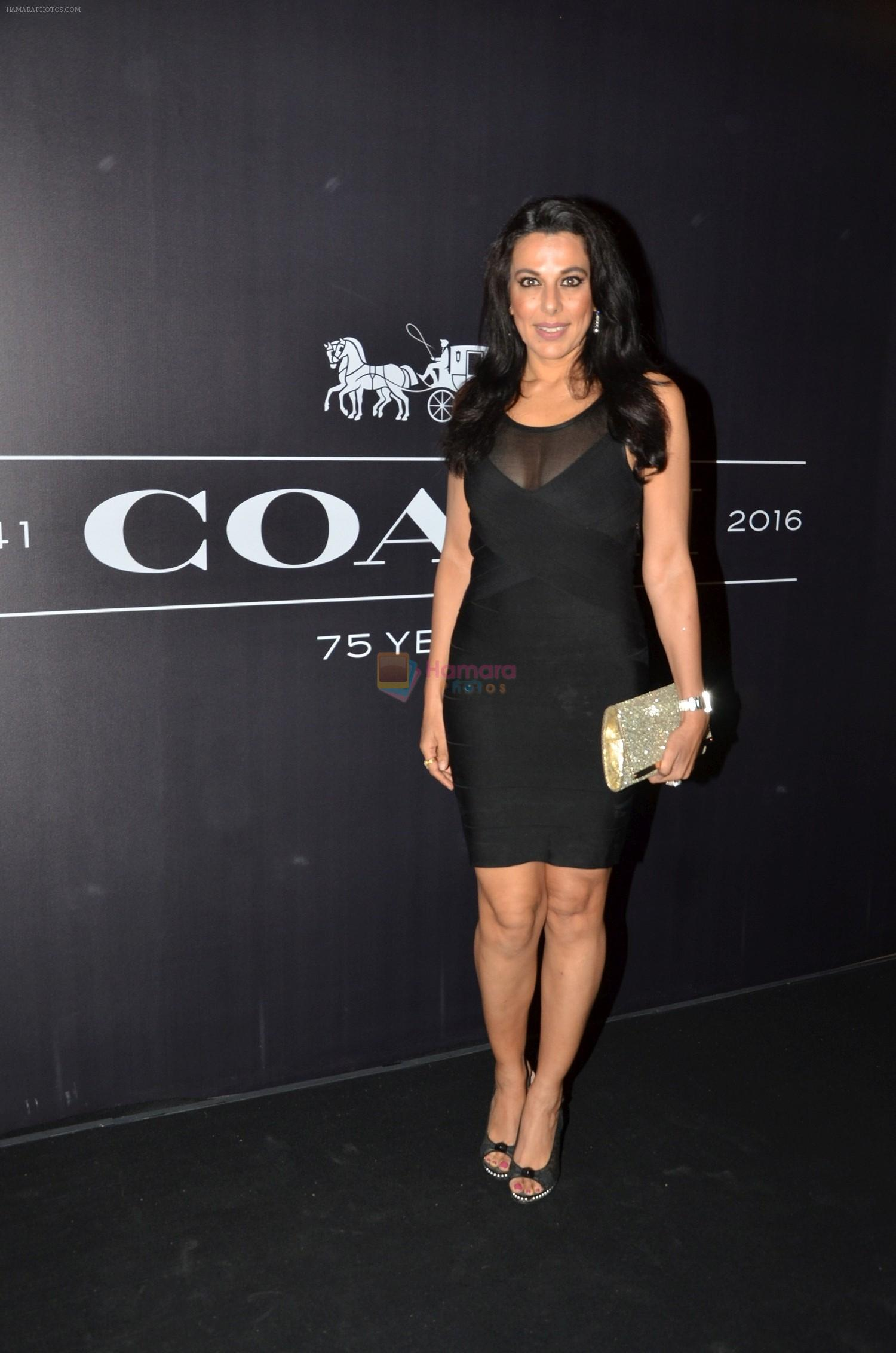 Pooja Bedi At The Coach Launch Celebrations