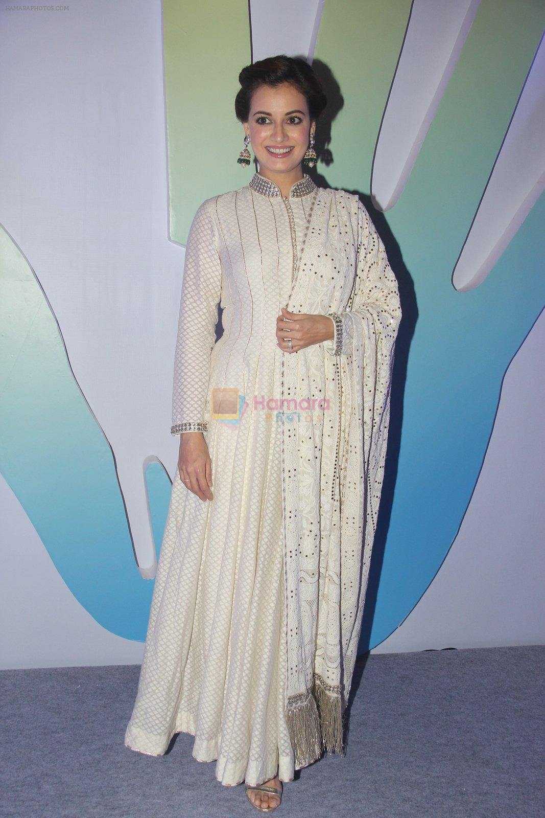 Dia Mirza during Jewellers for Hope Charity Dinner event in Mumbai, India on August 4, 2016
