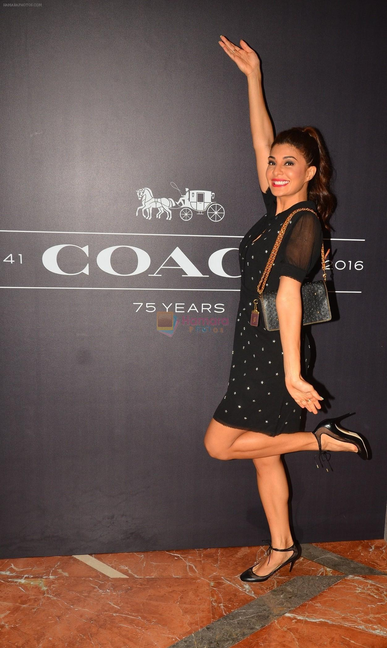 Jacqueline Fernandez At The Coach Launch Celebrations