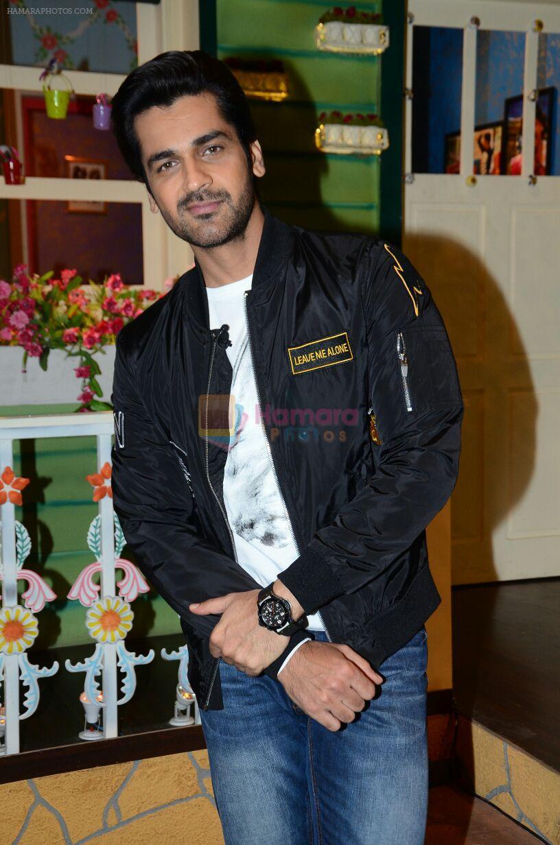 Arjan Bajwa promote Rustom on the sets of The Kapil Sharma Show on 5th Aug 2016