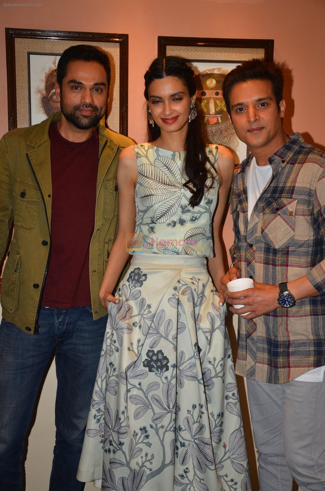 Abhay Deol, Diana Penty, Jimmy Shergill at Happy Bhag Jayegi photo shoot in Mumbai on 5th Aug 2016