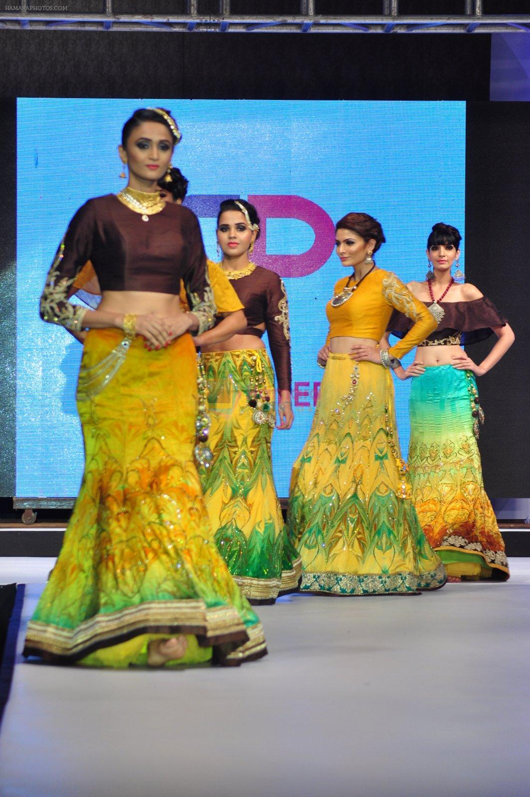 Model walk for a Jewellery show on 6th Aug 2016