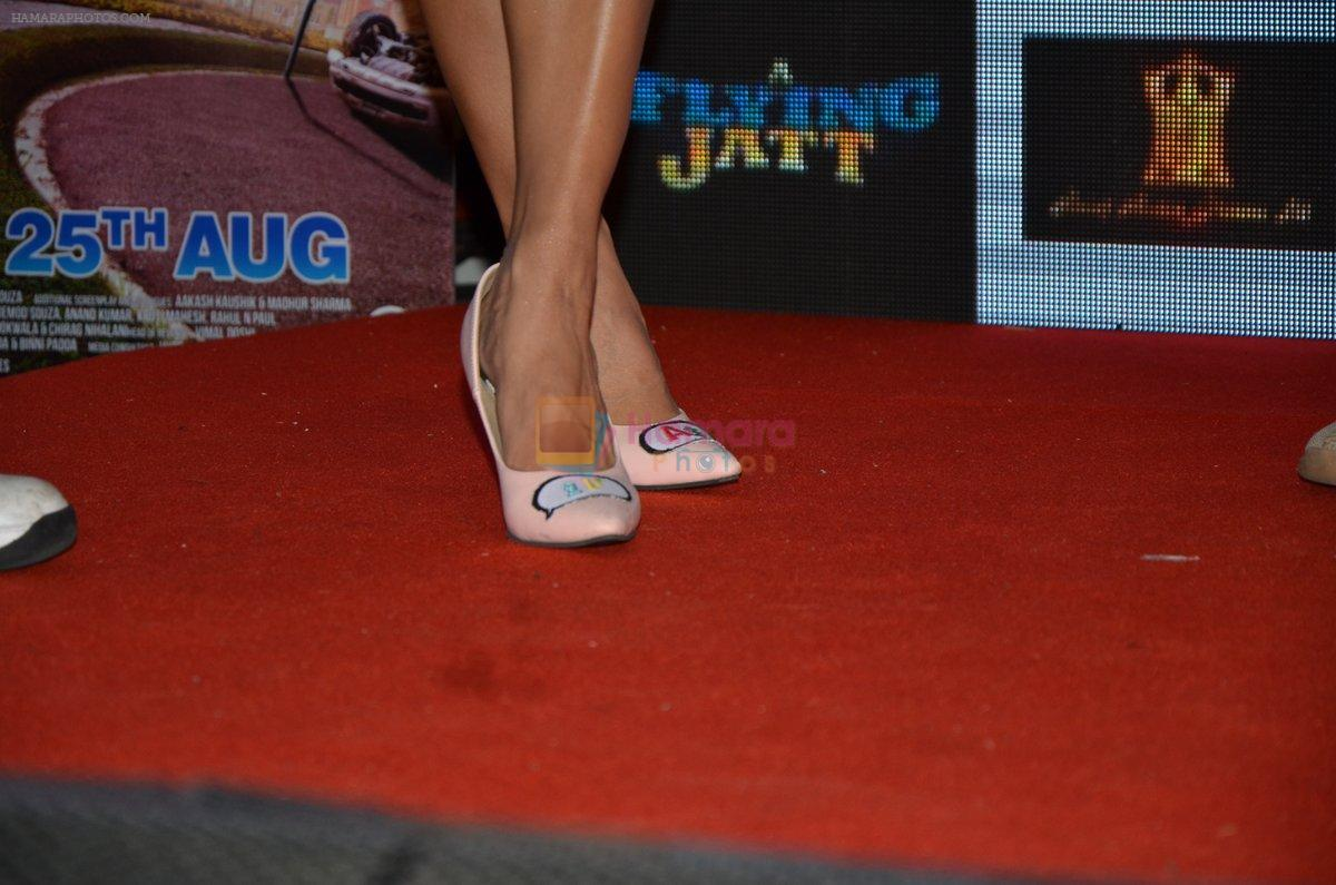 Jacqueline Fernandez promote The Flying Jatt at Smaash on 8th Aug 2016