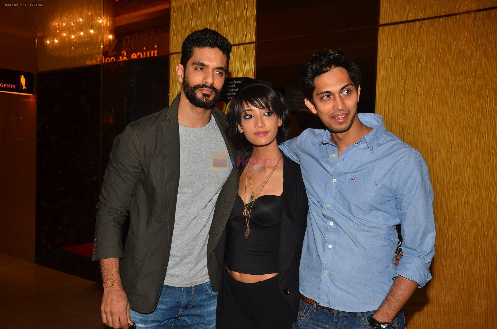 Angad Bedi, Andrea Tariang at Pink trailer launch in Mumbai on 9th Aug 2016