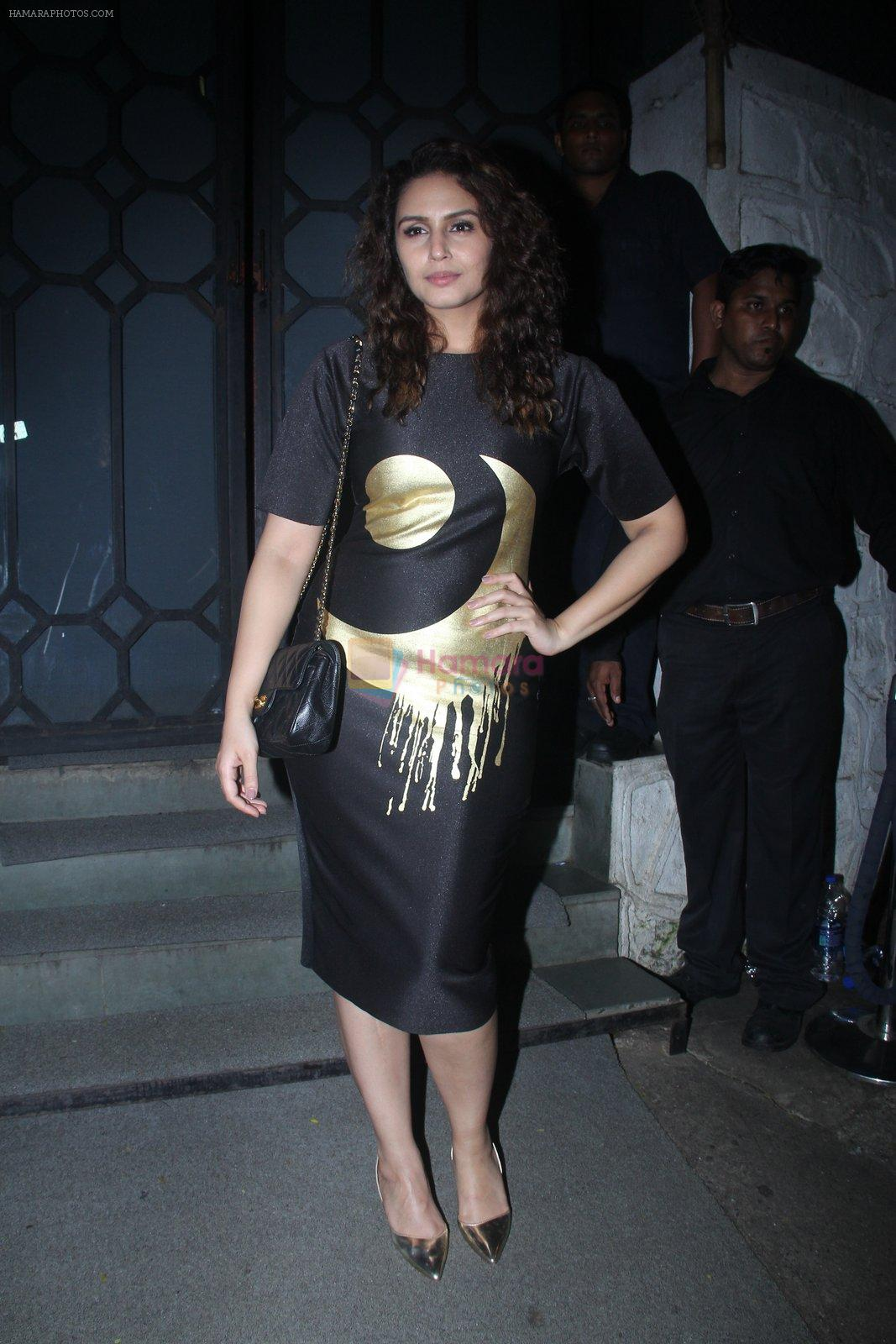 Huma Qureshi at Publicist Rohini Iyer's bash in Mumbai on 9th Aug 2016
