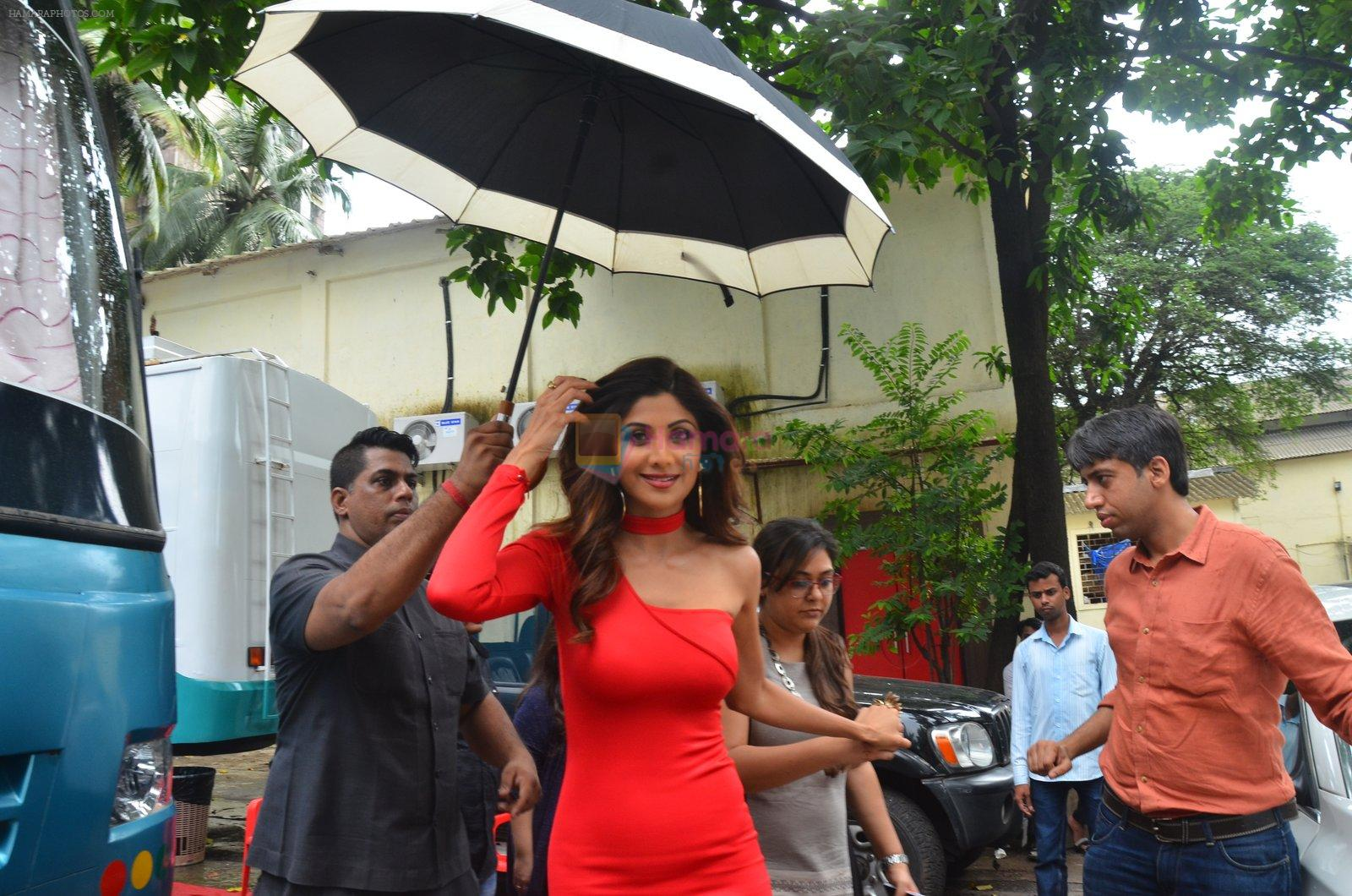 Shilpa Shetty for promo shoot of new show on sony on 9th Aug 2016