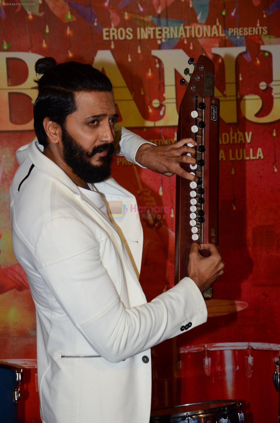 Riteish Deshmukh at Banjo launch in Mumbai on 9th Aug 2016