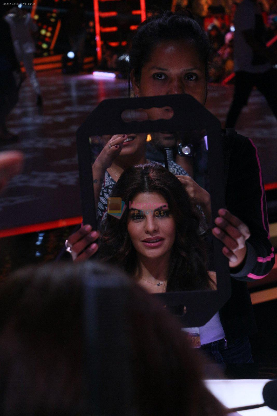 Jacqueline Fernandez on the sets of Jhalak Dikkhla Jaa 9 on 9th Aug 2016