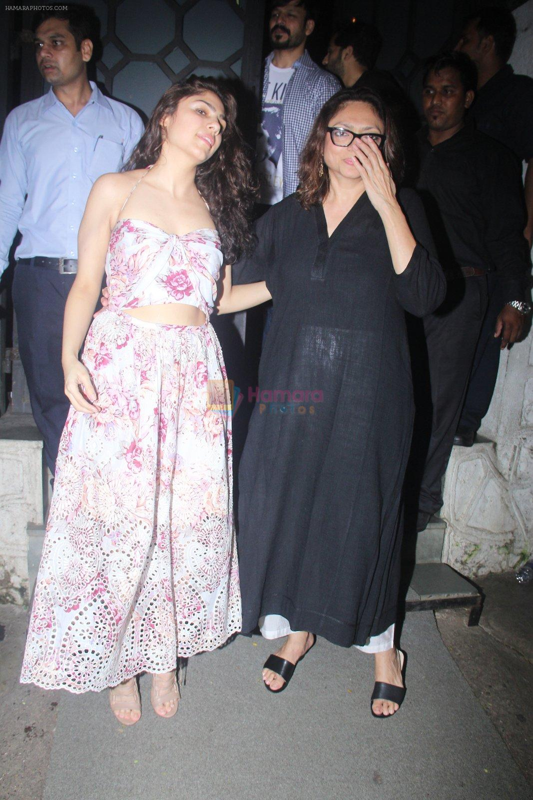 Bela Sehgal at Publicist Rohini Iyer's bash in Mumbai on 9th Aug 2016