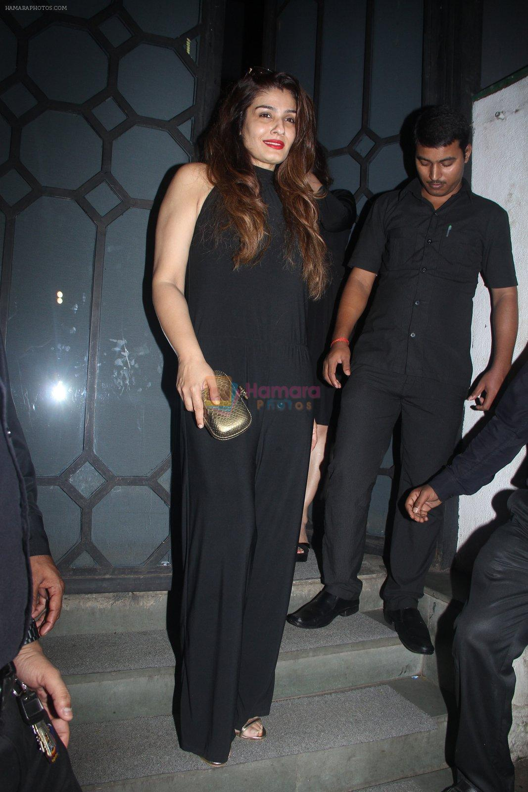 Raveena Tandon at Publicist Rohini Iyer's bash in Mumbai on 9th Aug 2016