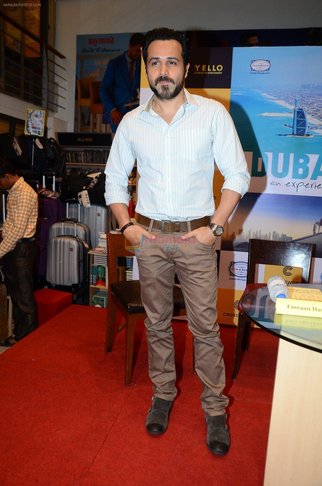 Emraan Hashmi at Dubai book launch on 9th Aug 2016