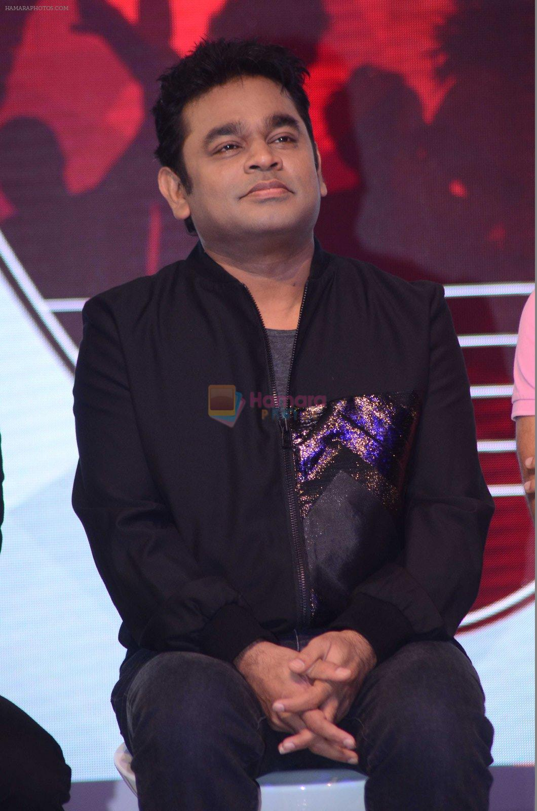 A R Rahman at the launch of Qyuki's Jammin on 10th Aug 2016
