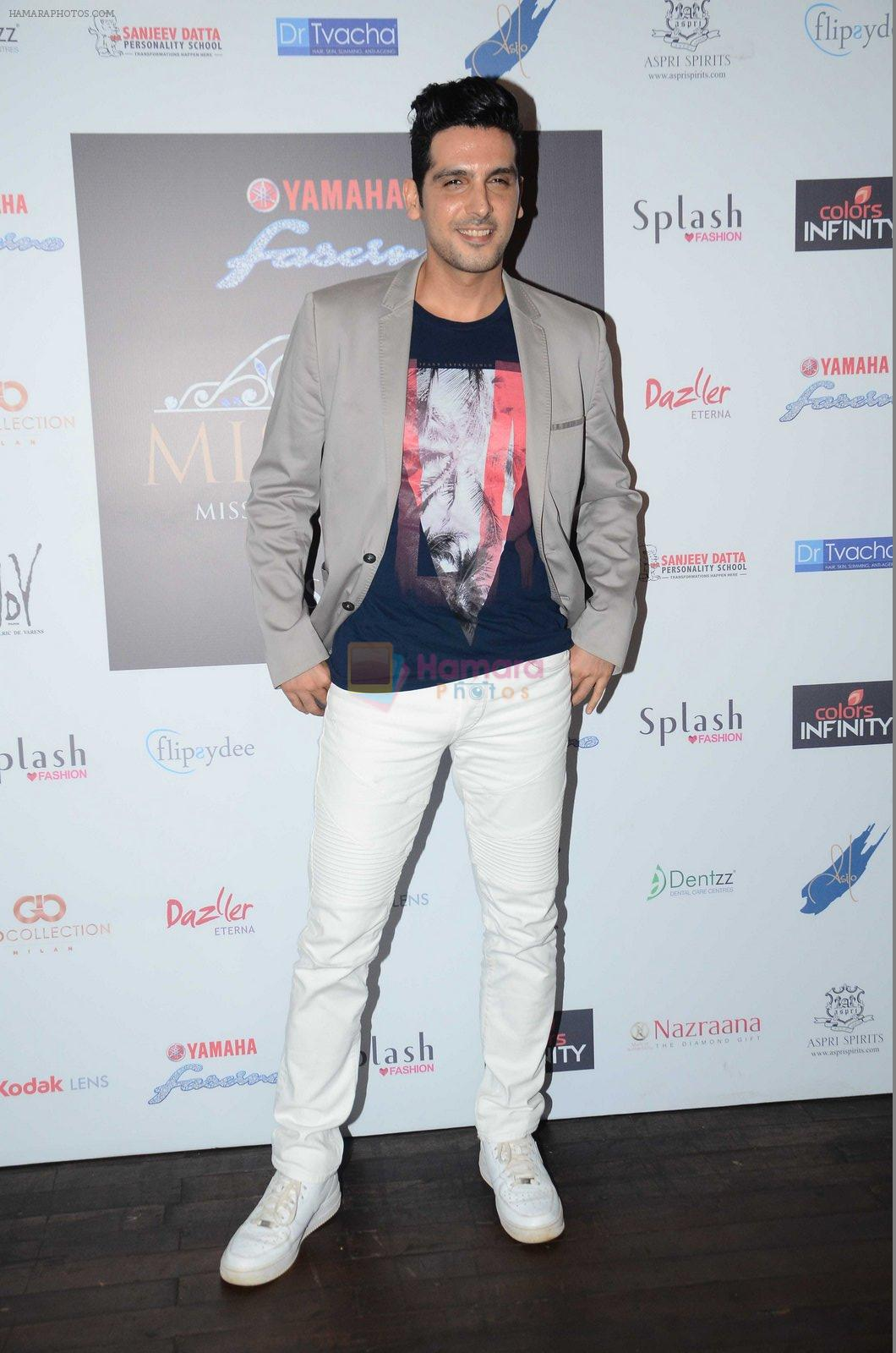 Zayed Khan at Miss Diva Event on 10th Aug 2016