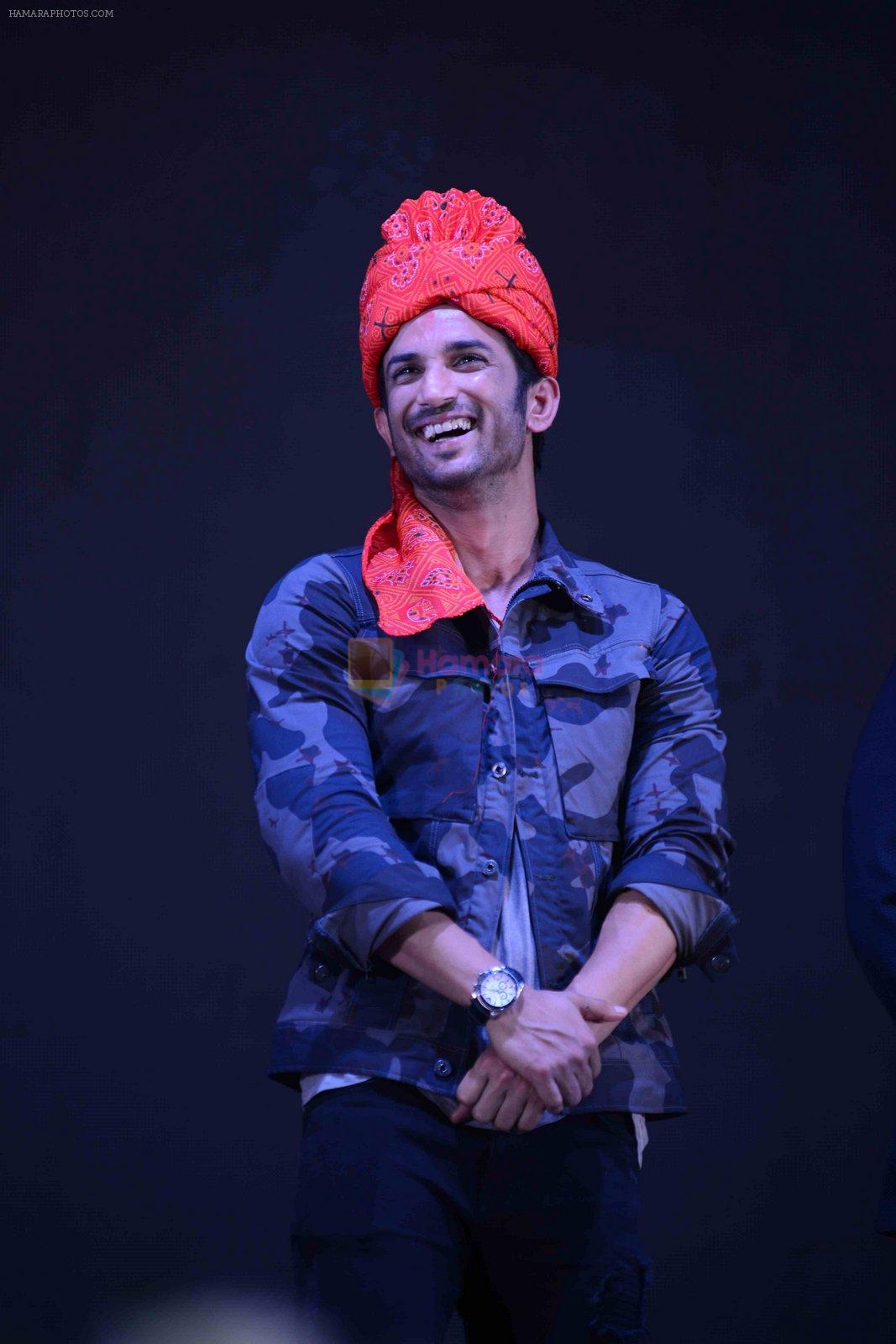 Sushant Singh Rajput at MS Dhoni trailer launch on 11th Aug 2016