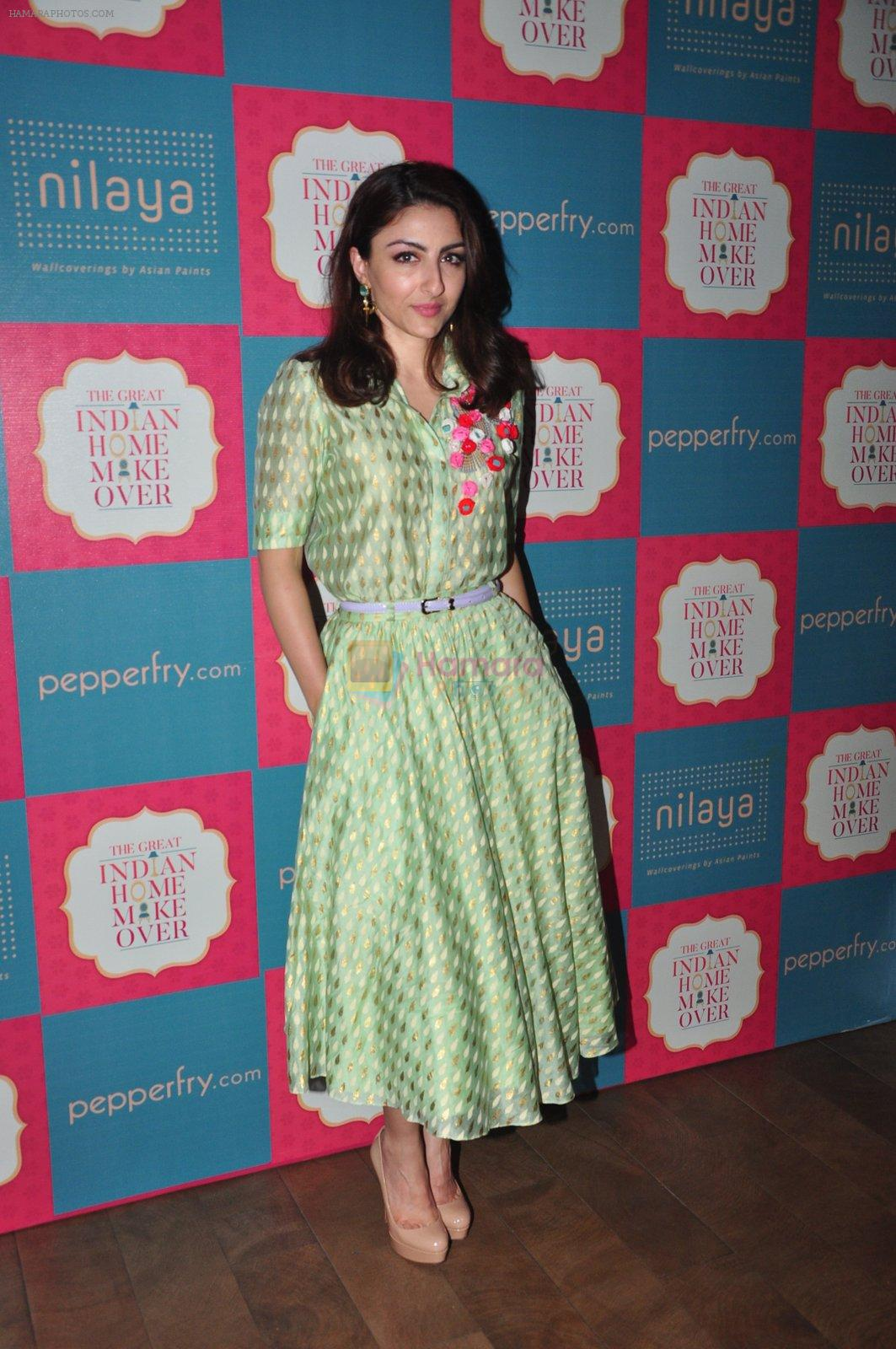 Soha Ali Khan to promote Great Indian Home Maker on 10th Aug 2016