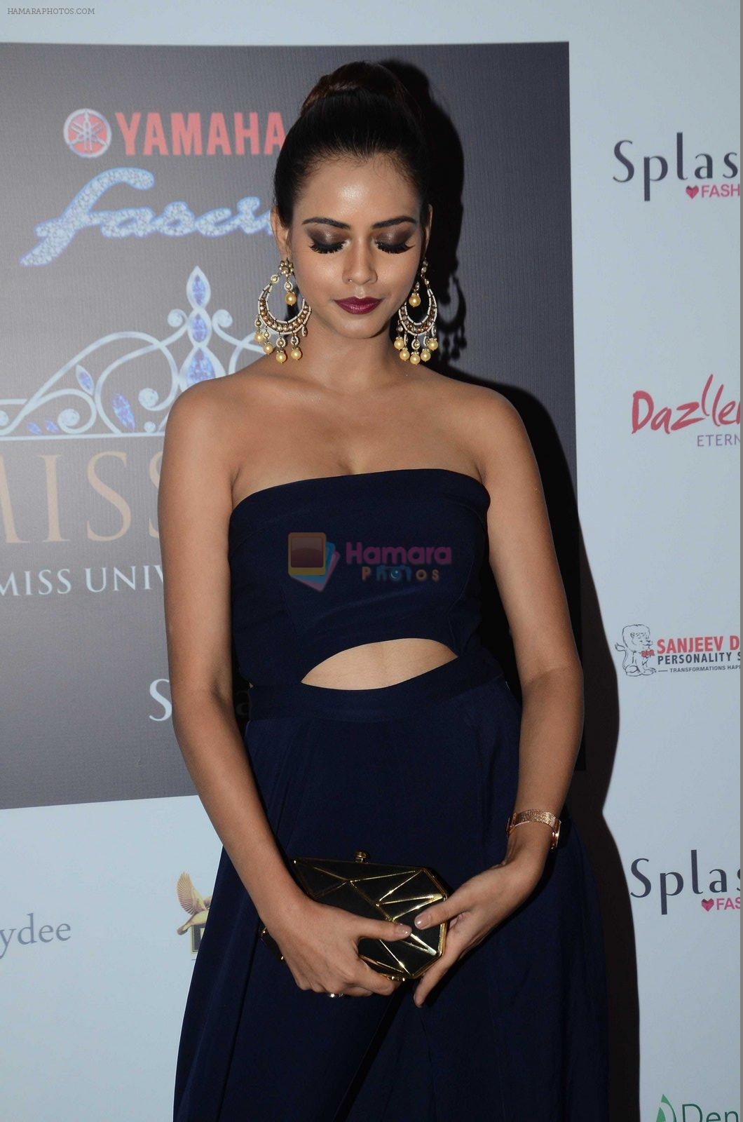 at Miss Diva Event on 10th Aug 2016