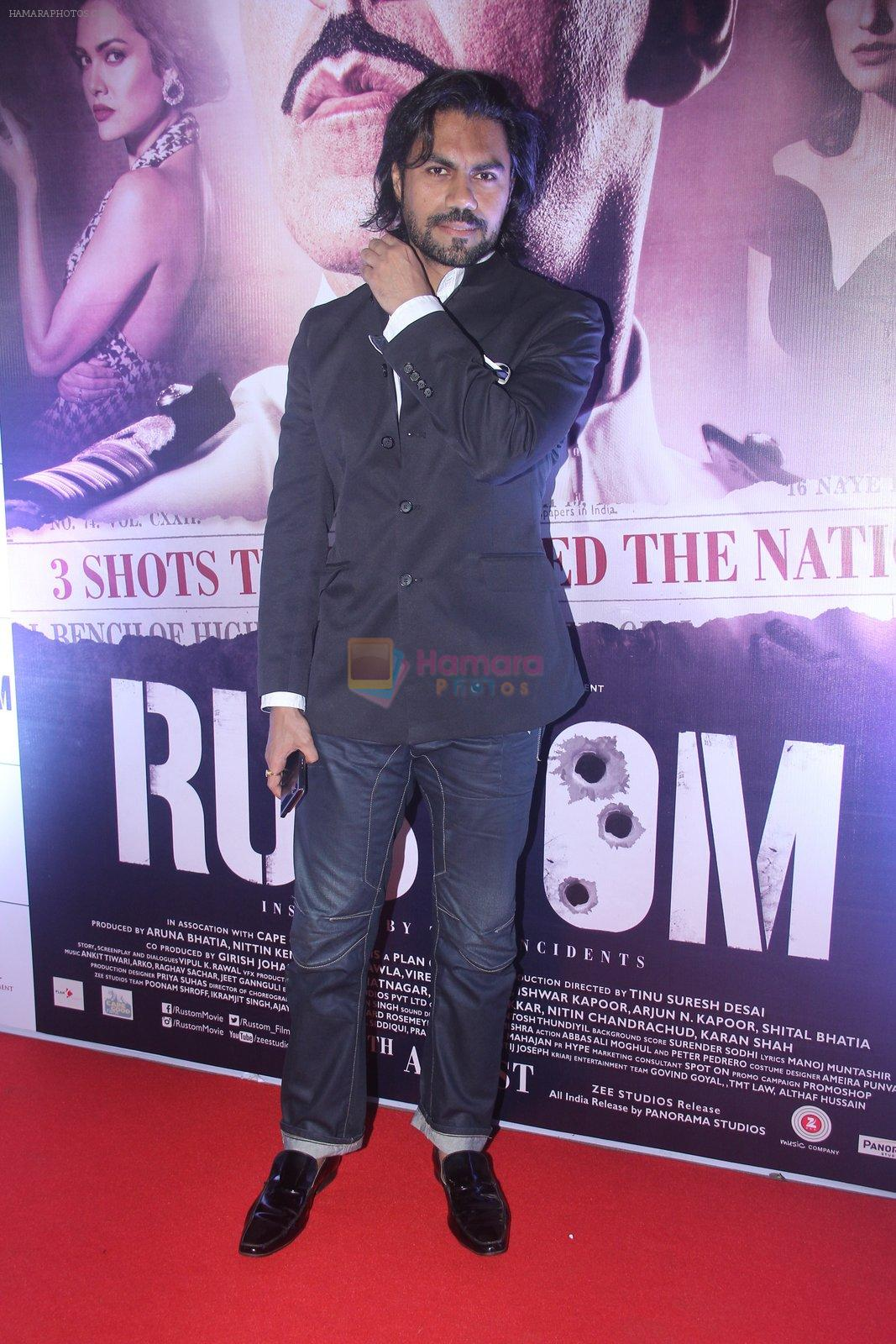 Gaurav Chopra at Rustom screening in Sunny Super Sound on 11th Aug 2016