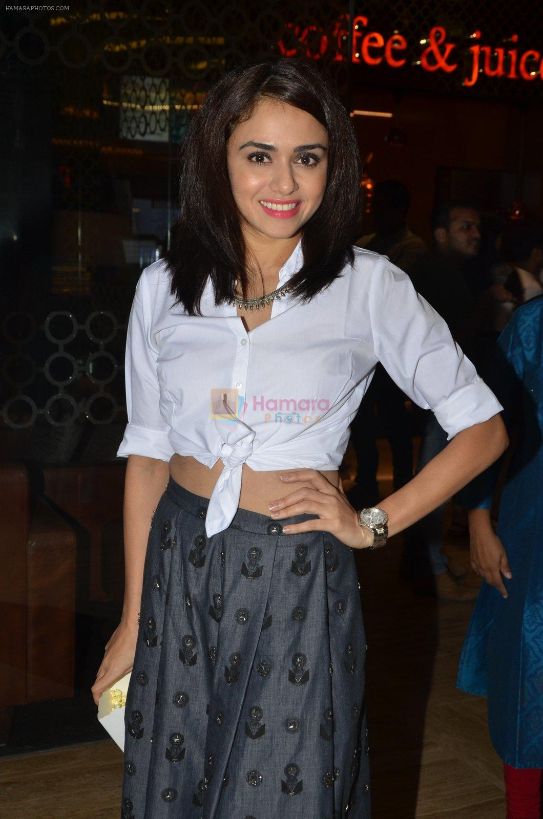 Amruta Khanvilkar at Sai Tamhanakar's film screening in Mumbai on 11th Aug 2016