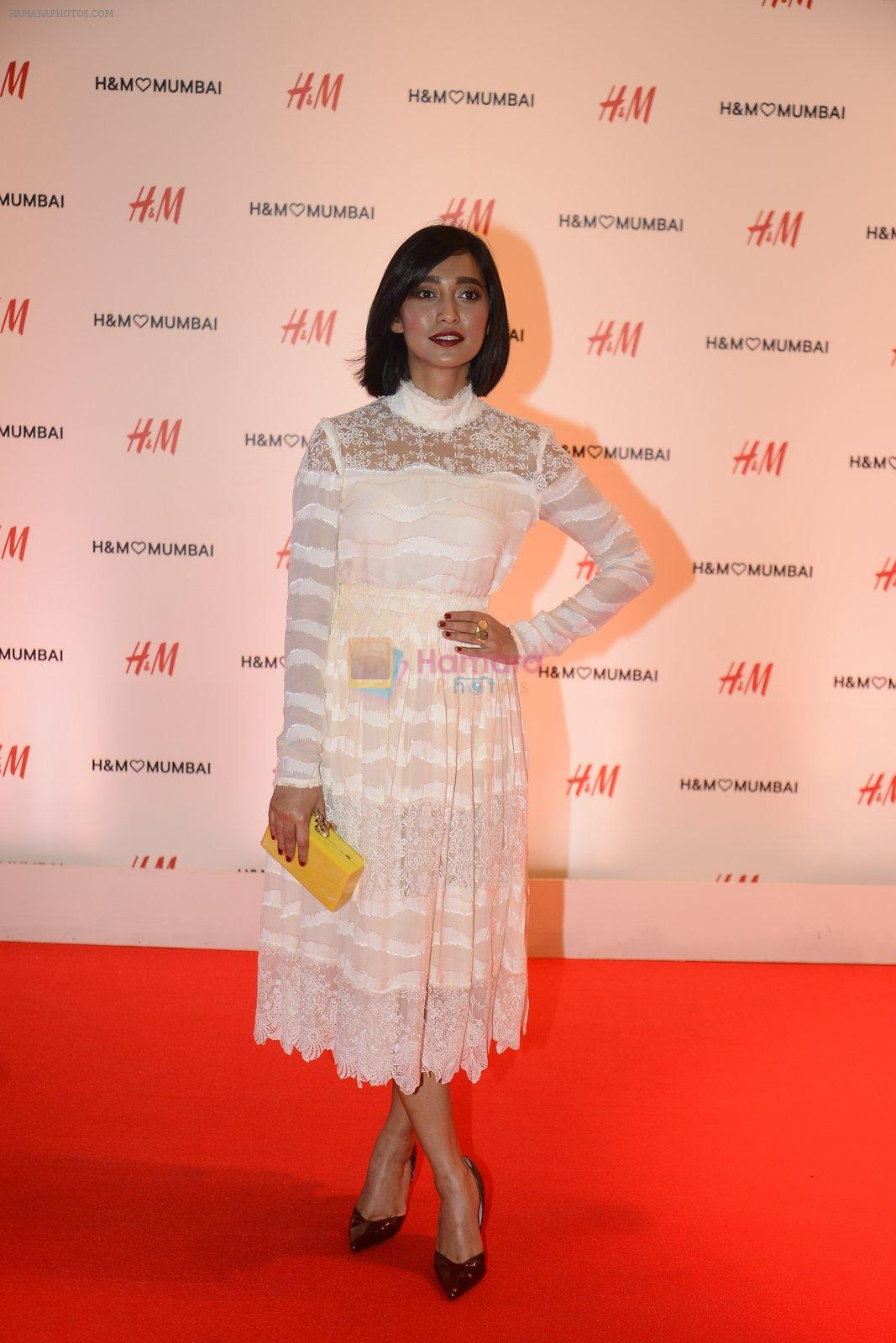 Sayani Gupta at h&m mubai launch on 11th Aug 2016