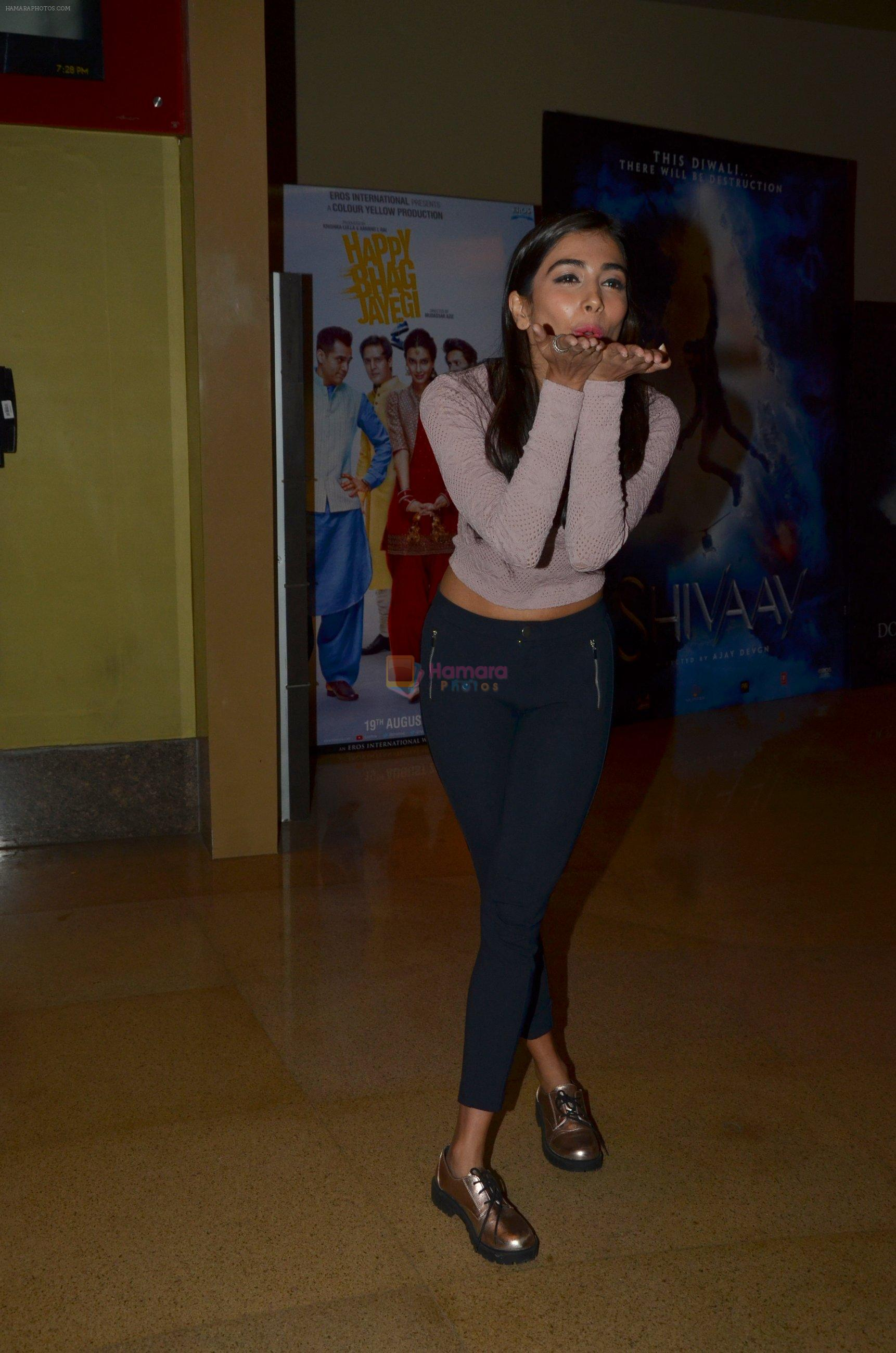 Pooja Hegde snapped at pvr parel on 12th Aug 2016