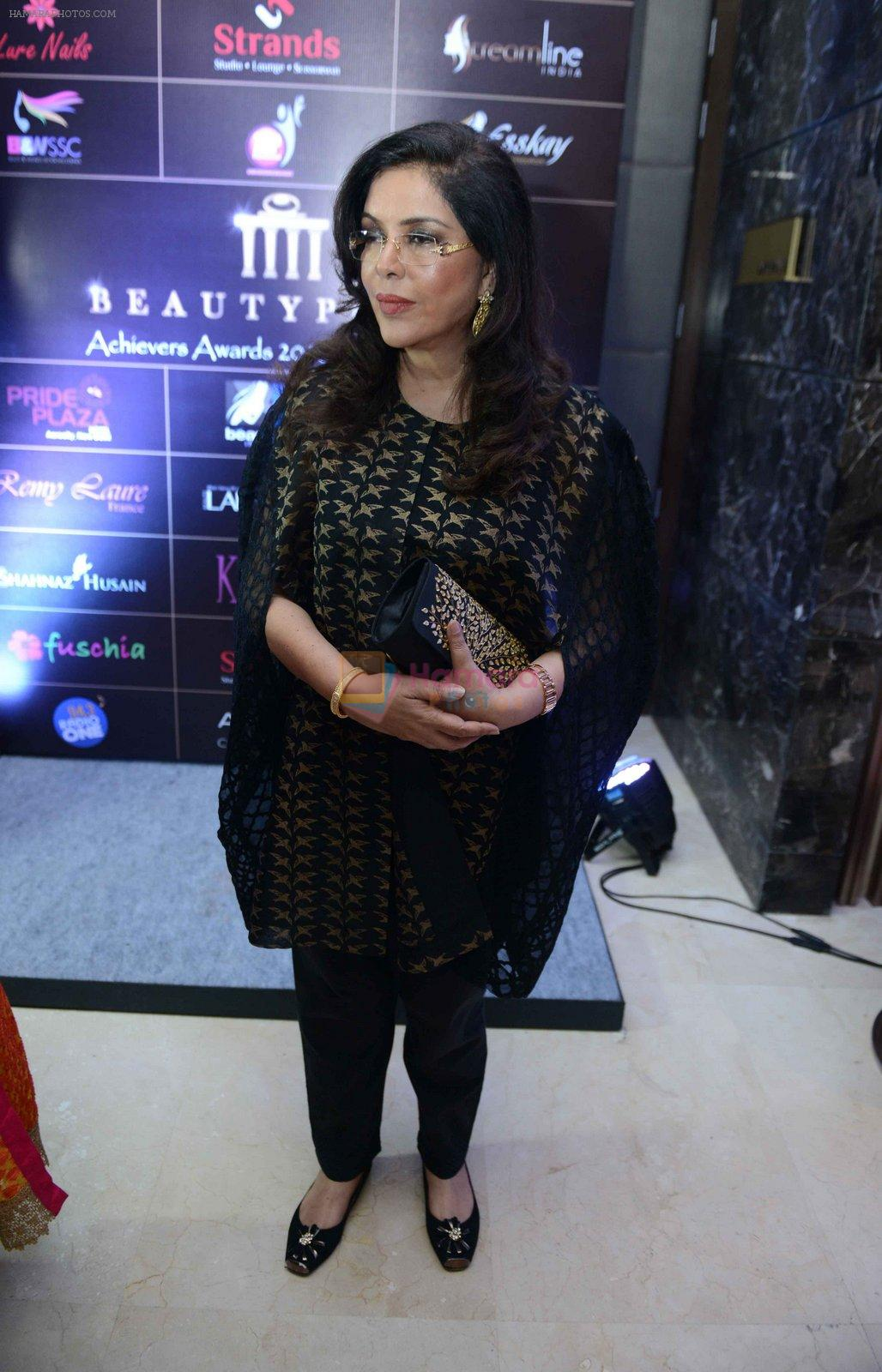 Zeenat Aman at Beautypolis Achievers Awards 2016 in Mumbai on 14th Aug 2016