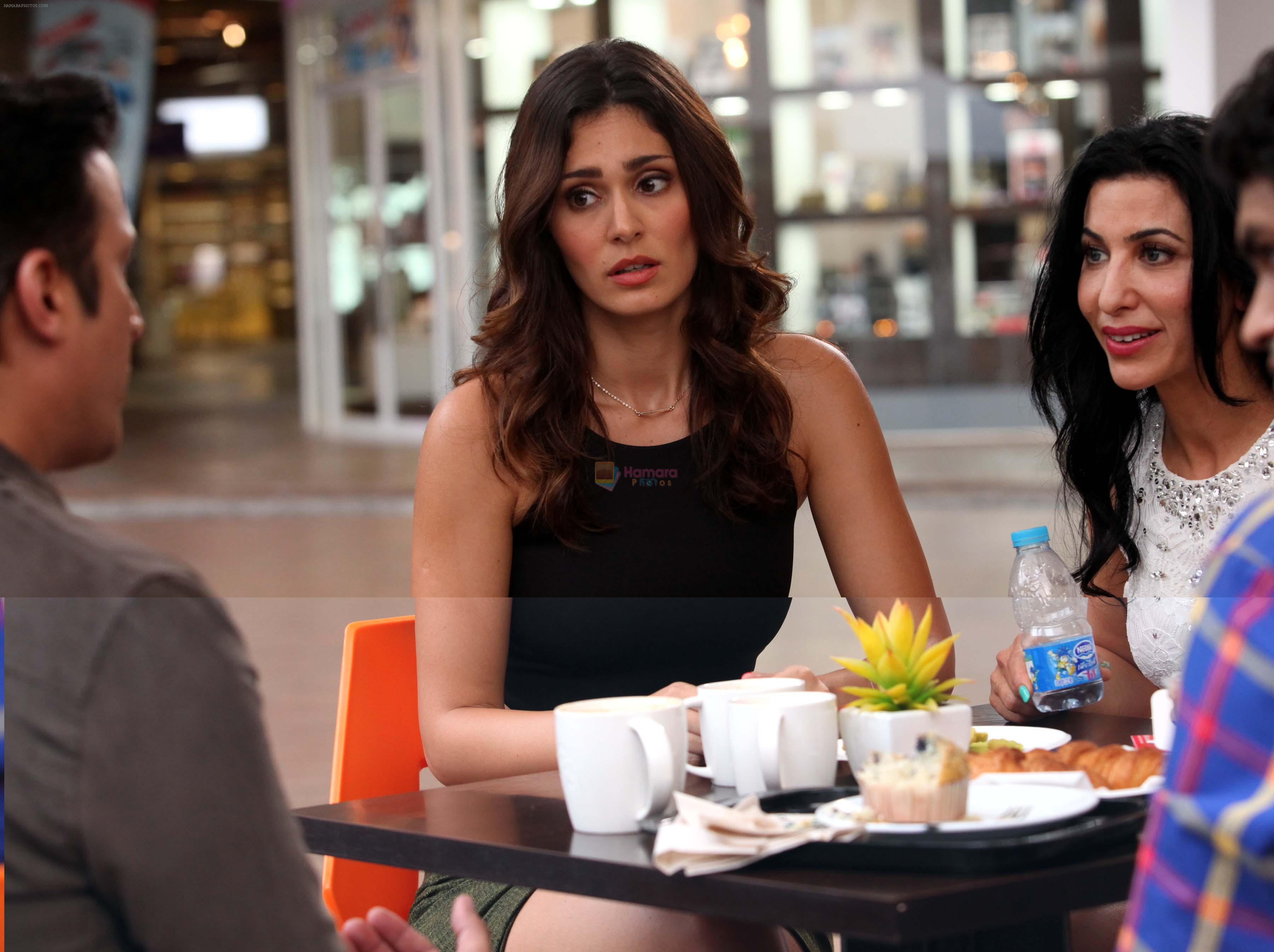 Bruna Abdullah in the still from movie Yea Toh Two Much Ho Gayaa