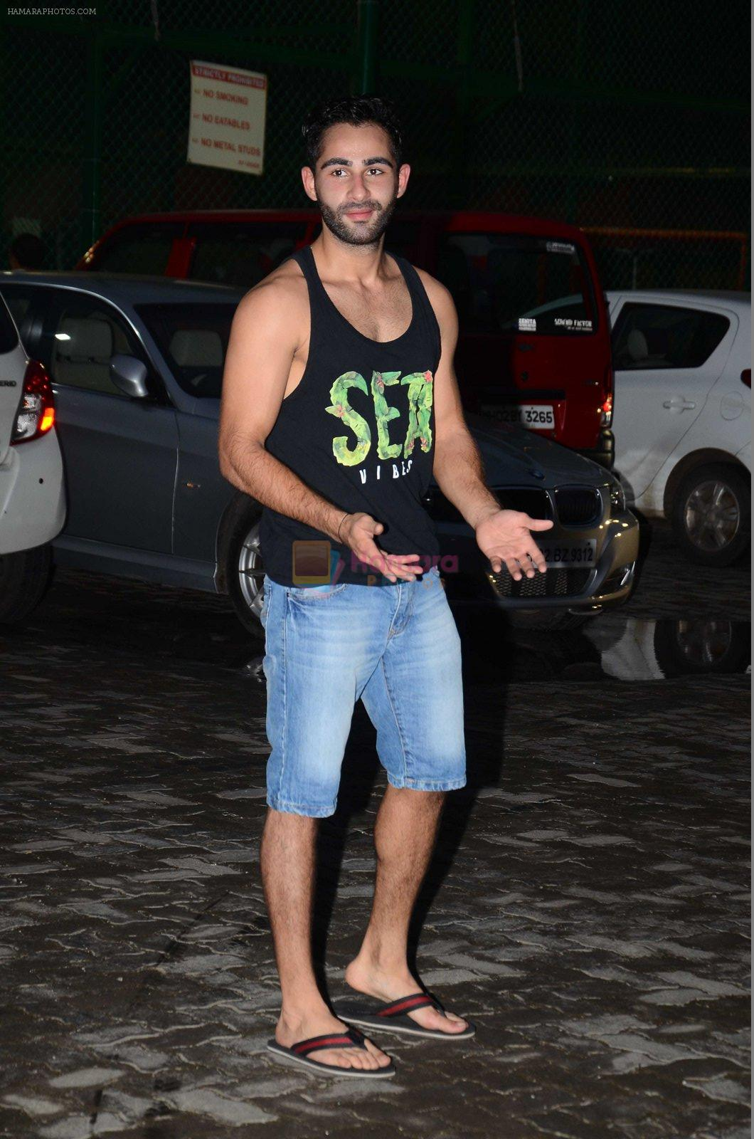 Armaan Jain snapped at soccer match in Mumbai on 14th Aug 2016