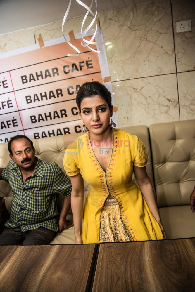 Samantha launches Bahar cafe on 15th Aug 2016