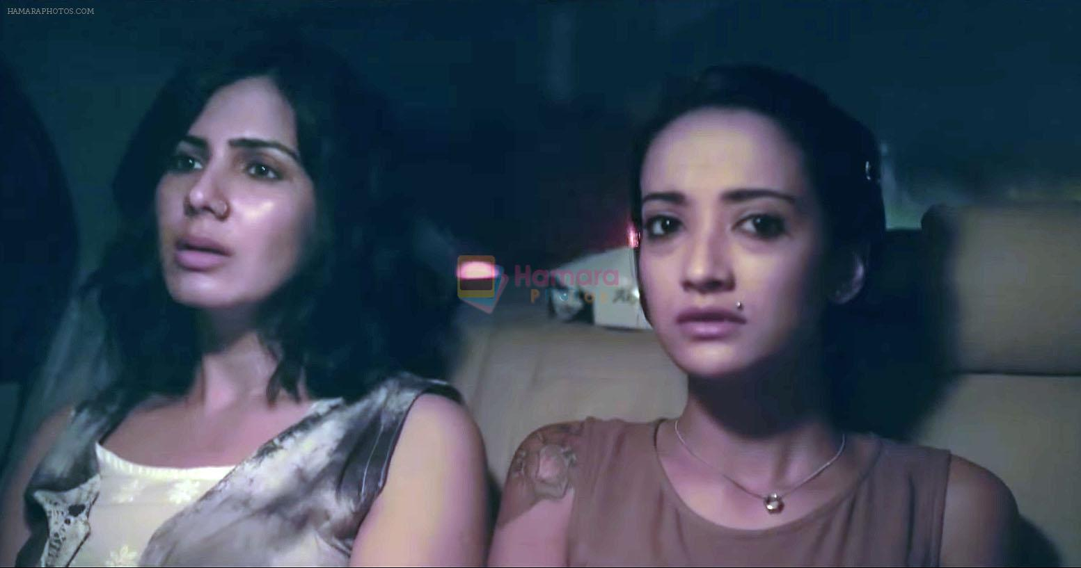 Kirti Kulhari, Andrea Tariang in Pink Movie Still
