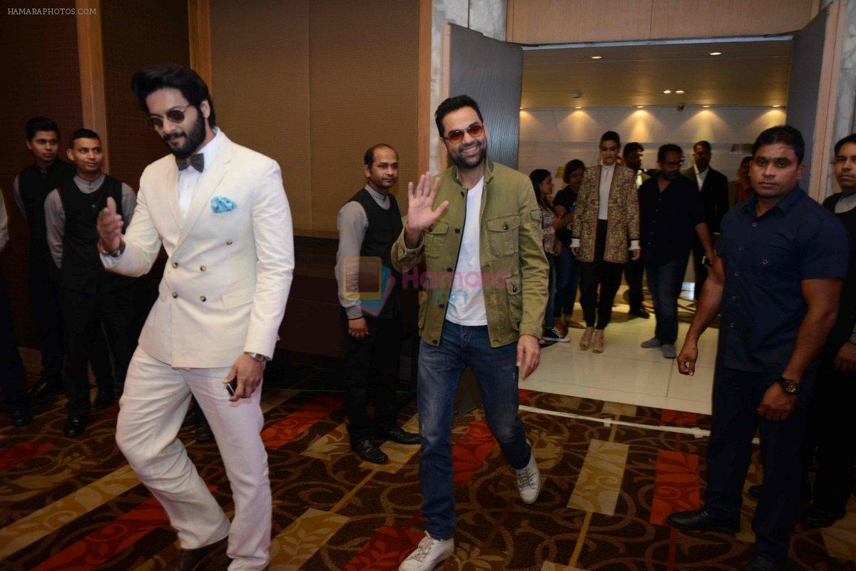 Abhay Deol, Ali Fazal at Happy Bhag Jayegi Press Conference in New Delhi on 17th Aug 2016