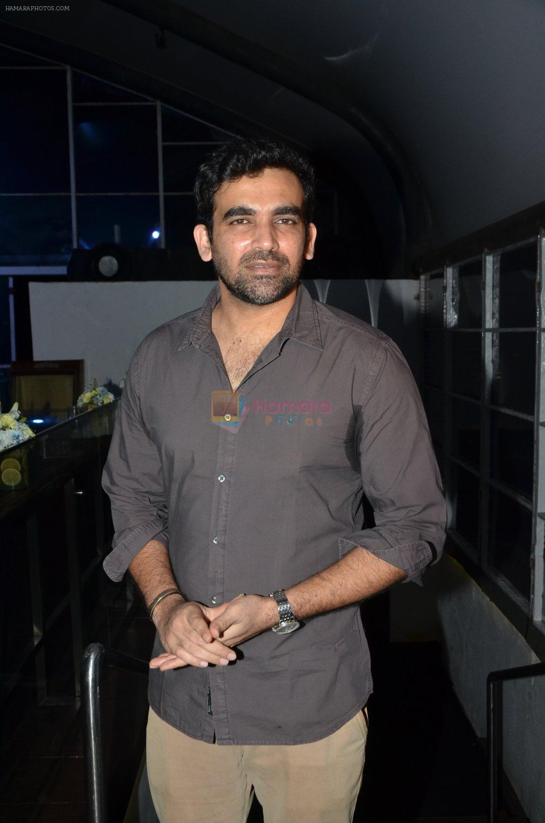 Zaheer Khan at Manasi Scott album launch in Mumbai on 16th Aug 2016