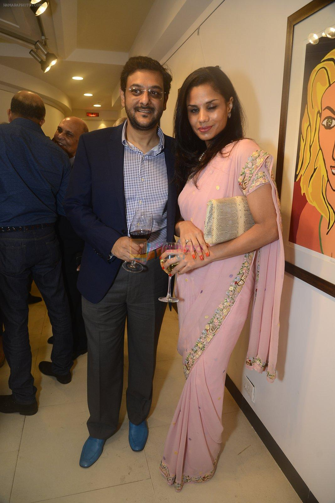 at Dilip De's art event on 16th Aug 2016