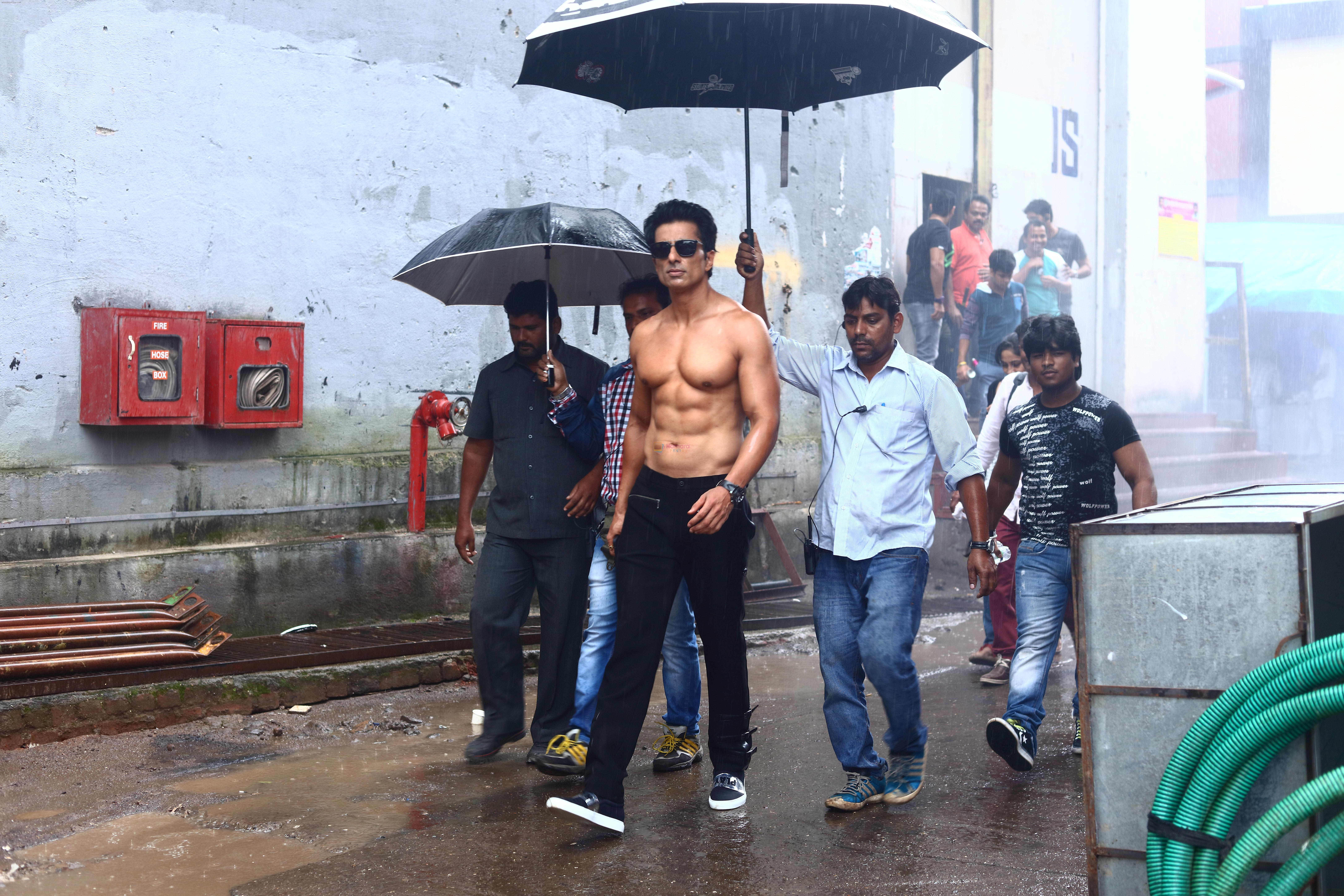Sonu Sood goes shirtless for his home production Two In One