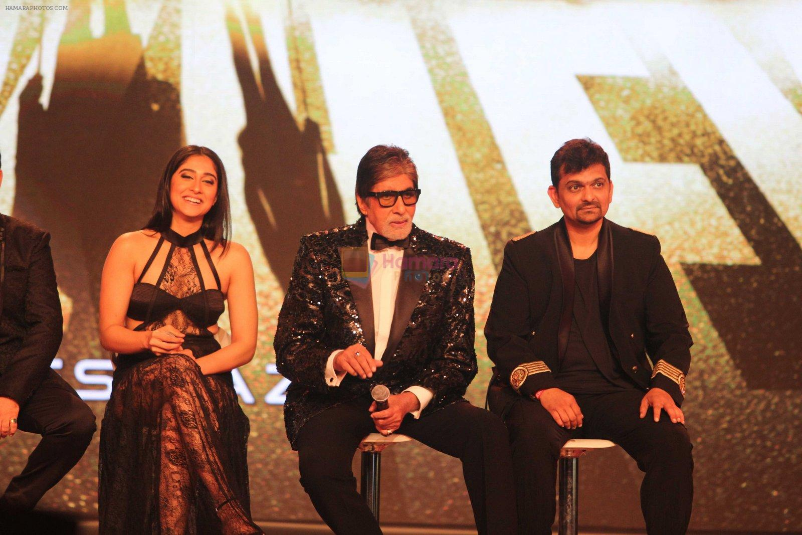 Regina Cassandra, Amitabh Bachchan, Gaurang Doshi at Aankhen 2 launch in Mumbai on 17th Aug 2016