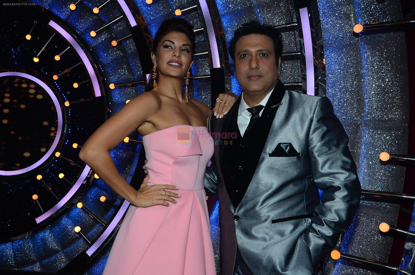 Jacqueline Fernandez, Govinda on the sets of Jhalak Dikhhla Jaa 9 on 17th Aug 2016