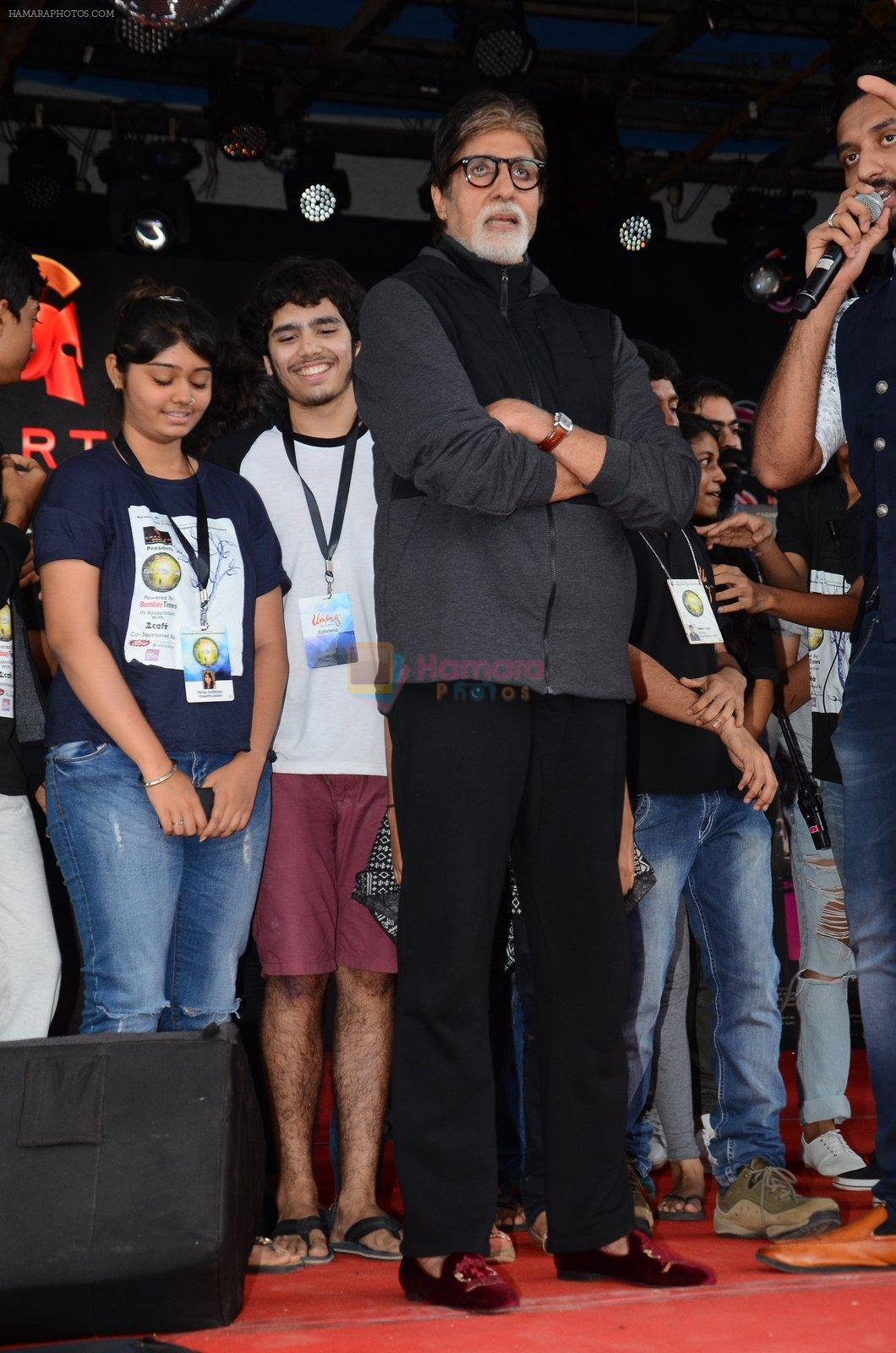 Amitabh Bachchan at Pink promotions in Umang fest on 17th Aug 2016