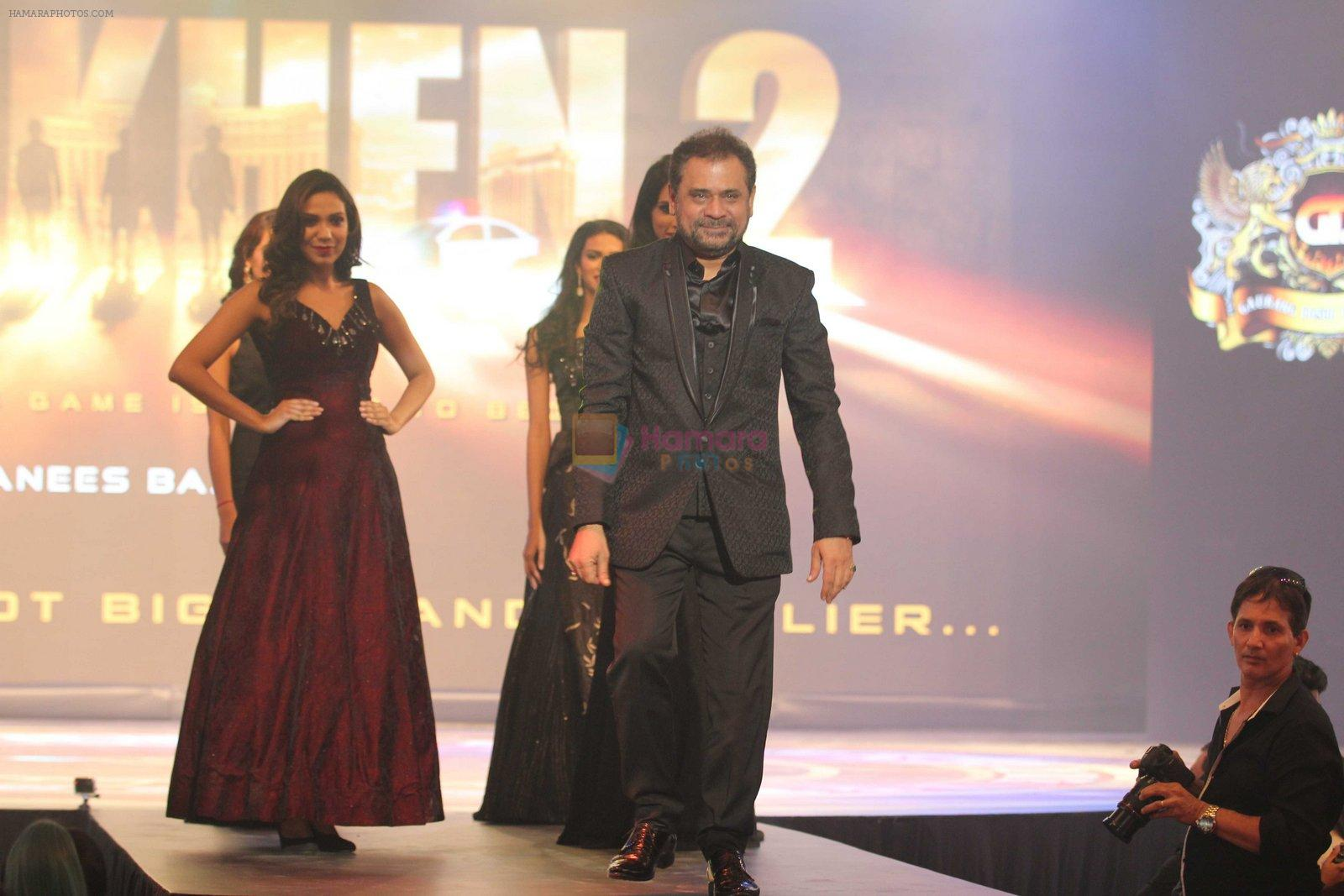 Anees Bazmee at Aankhen 2 launch in Mumbai on 17th Aug 2016