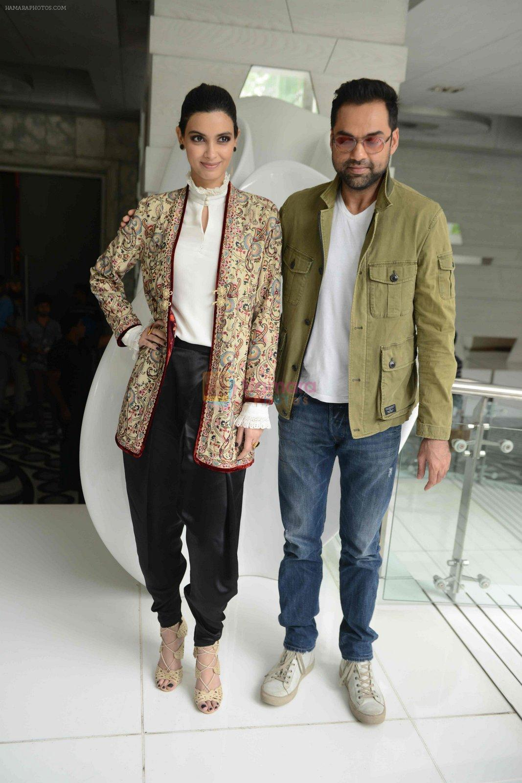 Abhay Deol, Diana Penty at Happy Bhag Jayegi Press Conference in New Delhi on 17th Aug 2016