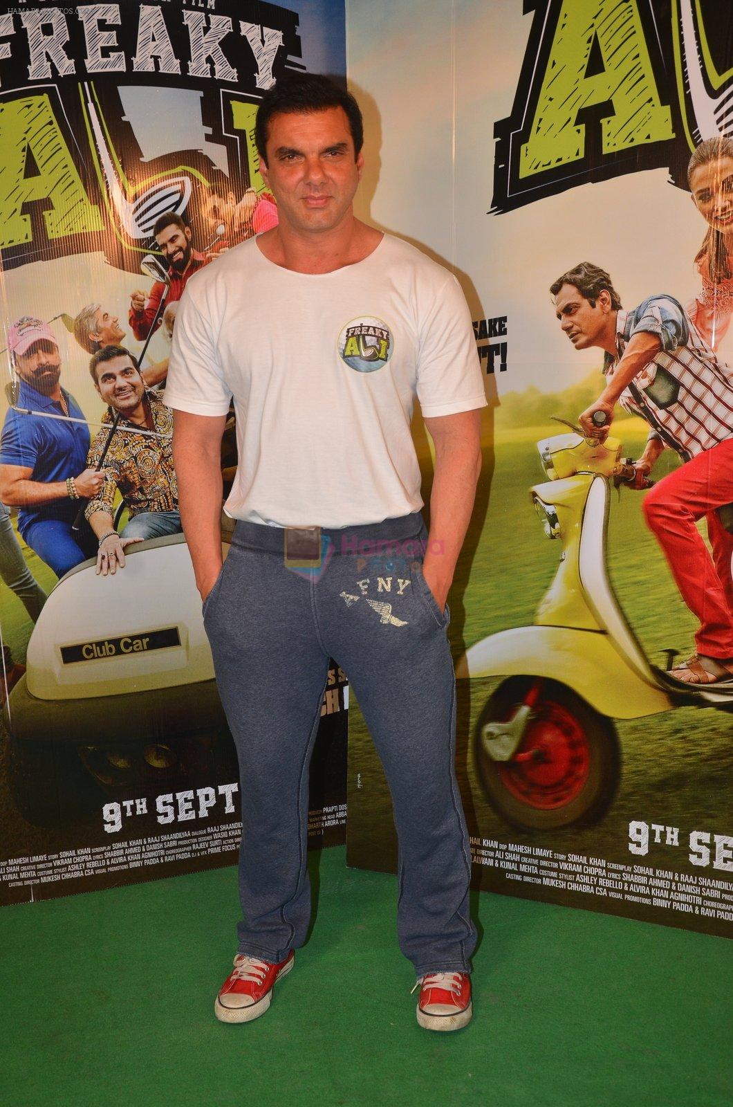 Sohail Khan snapped as he promote Freaky Ali on 20th Aug 2016