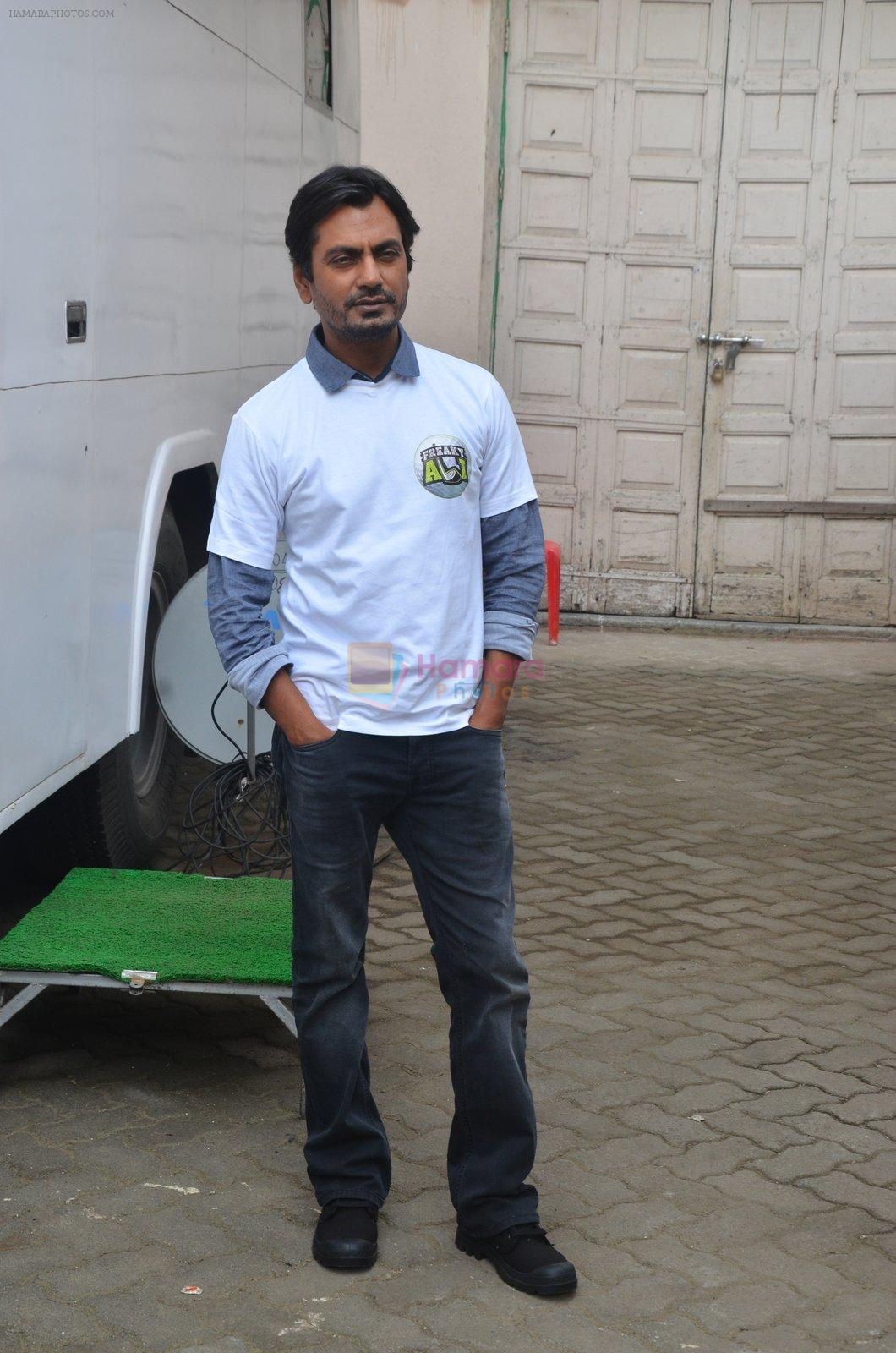 Nawazuddin Siddiqui snapped as he promote Freaky Ali on 20th Aug 2016