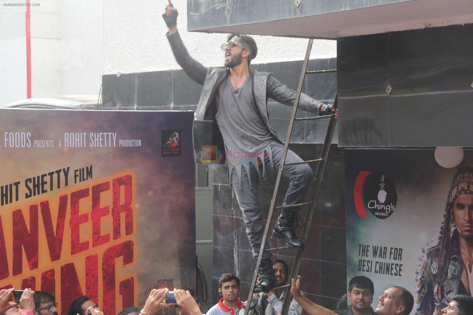 Ranveer Singh promote Ranveer Ching Returns on 19th Aug 2016