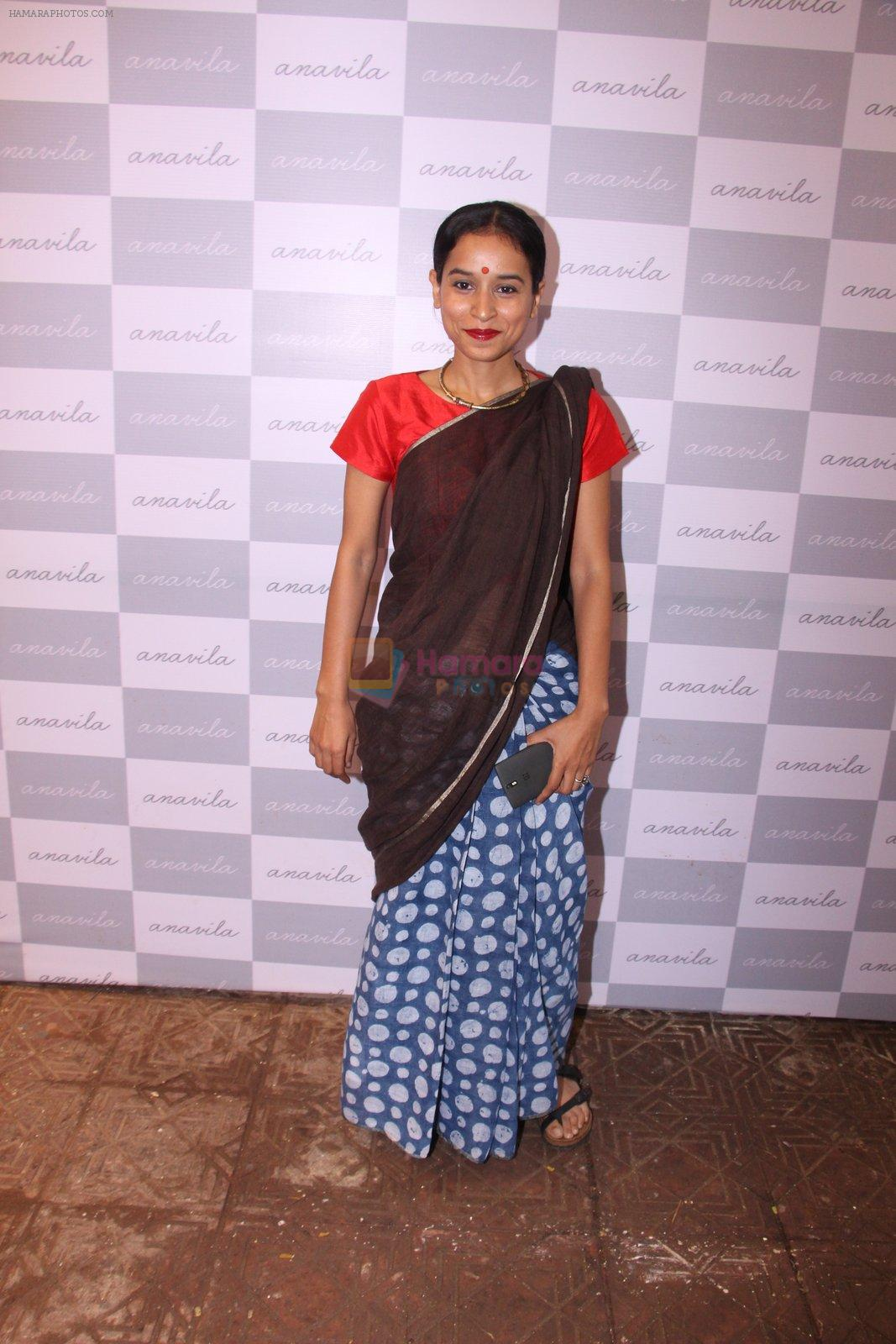 Tillotama Shome at new store Anavila launch on 19th Aug 2016