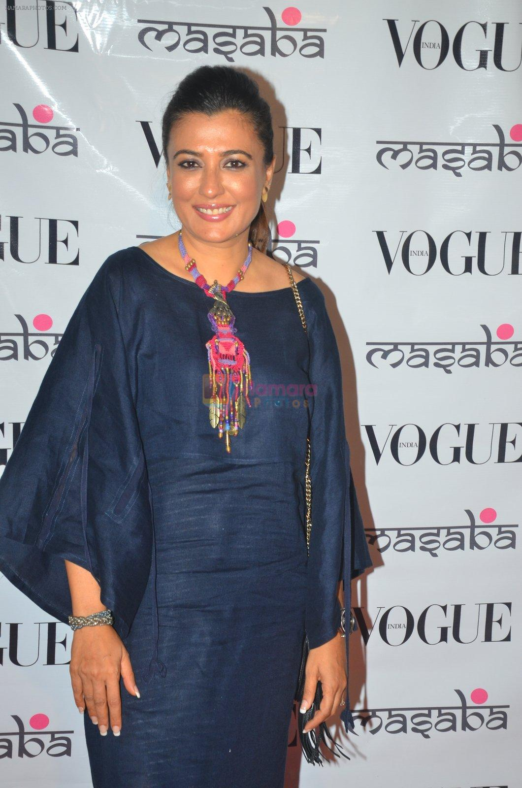 Mini Mathur at Masaba's store in Mumbai on 20th Aug 2016